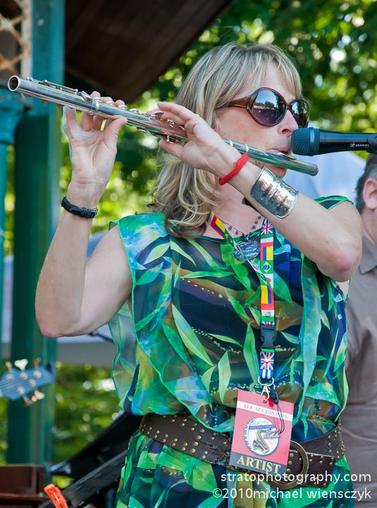 Jane Bunnett on Flute