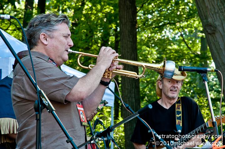 Larry Cramer on Trumpet