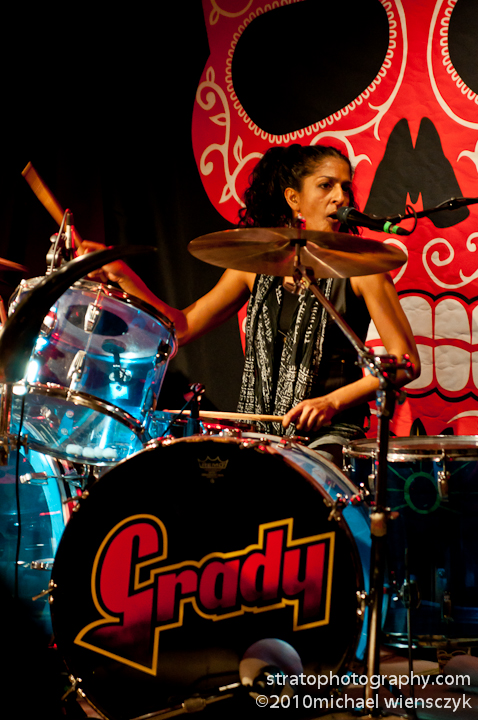 Nina Singh on Drums